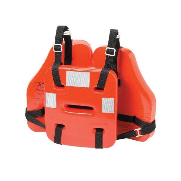 Chaleco salvavidas para trabajar con arnés en plataformas marinas